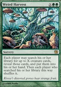 MTG Card: Weird Harvest