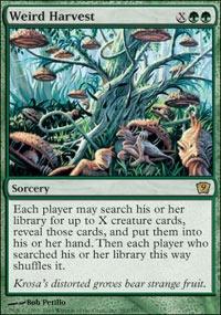 MTG Card: Weird Harvest