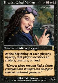MTG Card: Braids, Cabal Minion
