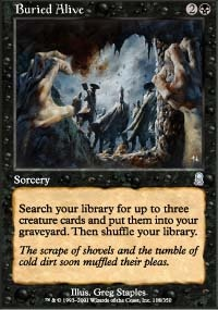 MTG Card: Buried Alive
