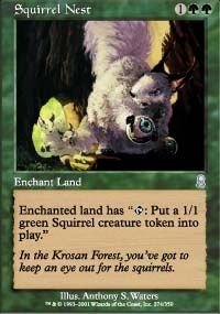 MTG Card: Squirrel Nest
