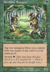 MTG Card: Birchlore Rangers