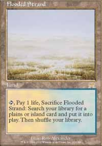 MTG Card: Flooded Strand