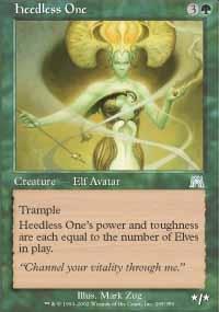 MTG Card: Heedless One