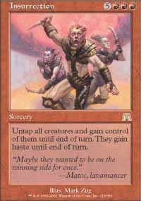 MTG Card: Insurrection