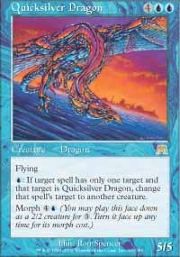 MTG Card: Quicksilver Dragon