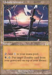 MTG Card: Unholy Grotto