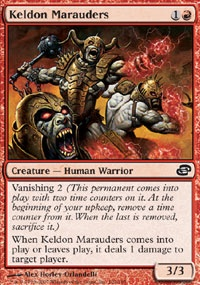 MTG Card: Keldon Marauders