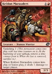 MTG Card: Keldon Marauders