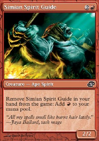 MTG Card: Simian Spirit Guide