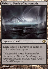 MTG Card: Urborg, Tomb of Yawgmoth