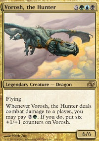 MTG Card: Vorosh, the Hunter