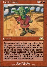 MTG Card: Goblin Game