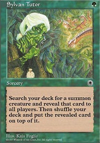 MTG Card: Sylvan Tutor