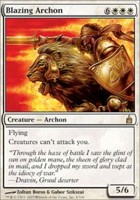 MTG Card: Blazing Archon