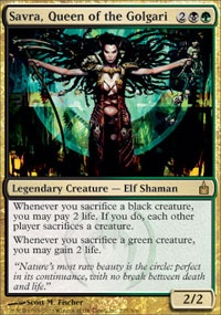 MTG Card: Savra, Queen of the Golgari