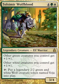 MTG Card: Tolsimir Wolfblood