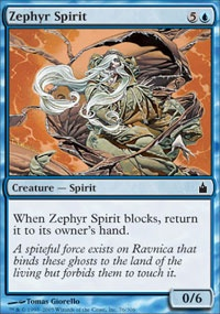 MTG Card: Zephyr Spirit