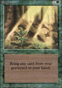 MTG Card: Regrowth