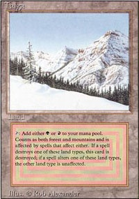 MTG Card: Taiga