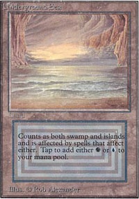 MTG Card: Underground Sea