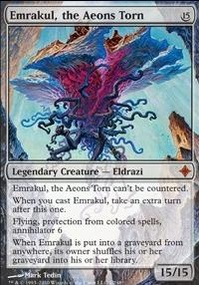 MTG Card: Emrakul, the Aeons Torn