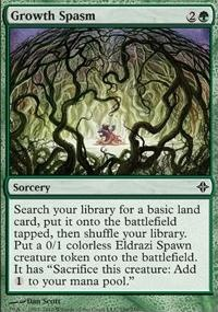 MTG Card: Growth Spasm