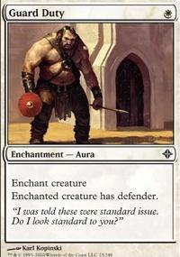 MTG Card: Guard Duty