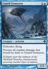 MTG Card: Guard Gomazoa
