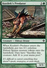 MTG Card: Kozilek's Predator