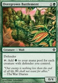 MTG Card: Overgrown Battlement