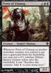MTG Card: Pawn of Ulamog