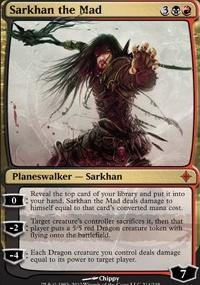 MTG Card: Sarkhan the Mad
