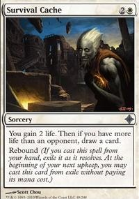 MTG Card: Survival Cache