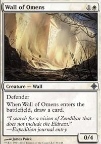 MTG Card: Wall of Omens