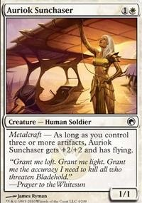 MTG Card: Auriok Sunchaser