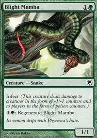 MTG Card: Blight Mamba