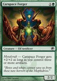 MTG Card: Carapace Forger