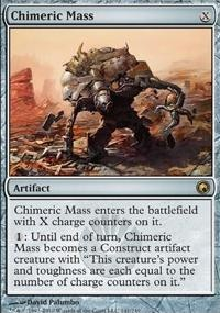 MTG Card: Chimeric Mass