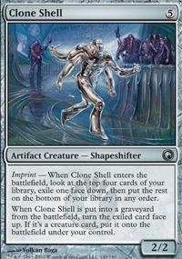 MTG Card: Clone Shell