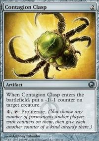 MTG Card: Contagion Clasp