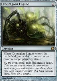 MTG Card: Contagion Engine