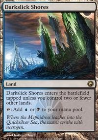 MTG Card: Darkslick Shores