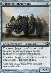 MTG Card: Darksteel Juggernaut