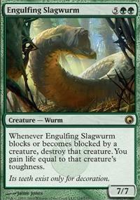 MTG Card: Engulfing Slagwurm