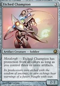 MTG Card: Etched Champion