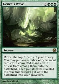 MTG Card: Genesis Wave