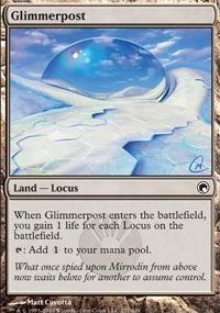 MTG Card: Glimmerpost
