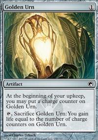 MTG Card: Golden Urn