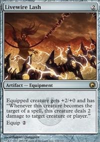 MTG Card: Livewire Lash